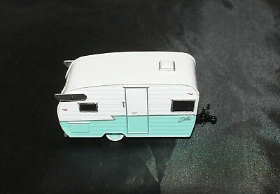 Die Cast Shasta Airflyte Trailer Replica Rubber Tire Adult Collectible!!