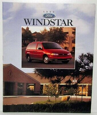 1996 Ford Windstar Sales Brochure
