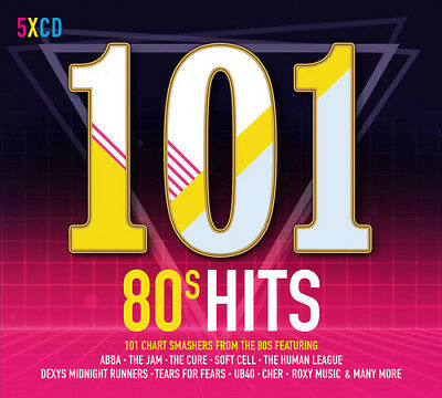 Various Artists : 101 80s Hits CD (2017) ***NEW***