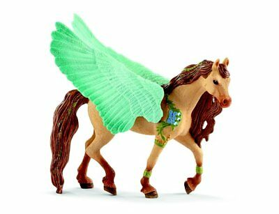 Decorated Pegasus Stallion by Schleich 70574 Stunning Bayala strong tough <><