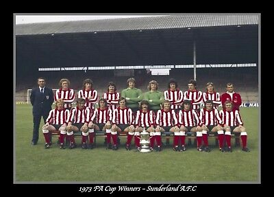 Photograph/Print/7 x 5 inch/1973 FA Cup/Final/Winners/Wembley/Sunderland/Photo