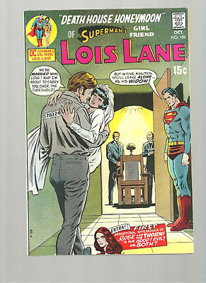 Lois Lane #105  High Grade 9./2/9.4  Copy Origin And 1St Rose And Thorn