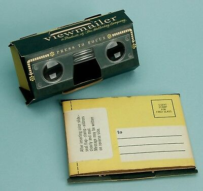 Stereo Realist VIEWMAILER Self Mailing Cardboard 3D Slide Viewer UNOPENED Rare