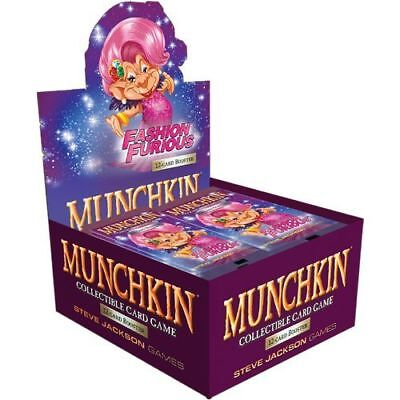 Munchkin Collectible Card Game CCG: PRESALE Fashion Furious booster display (24-