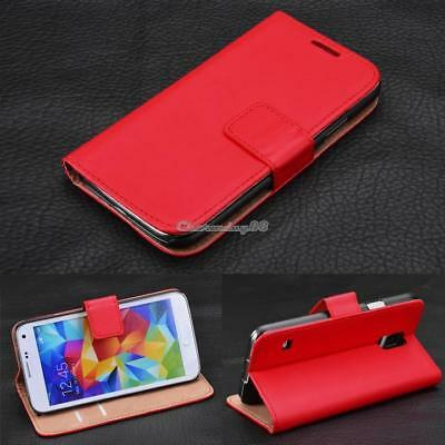 Wallet Card Holder Genuine Leather Flip Case Cover for Samsung Galaxy S3 C1MY
