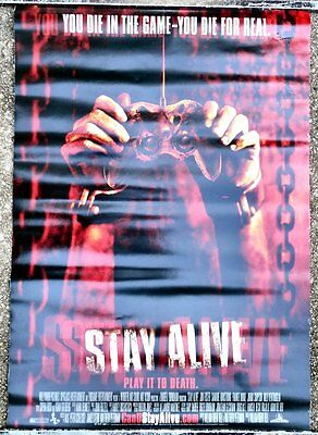 Original Stay Alive Ds One Sheet Movie Poster 2006 Frankie Muniz Slasher Horror