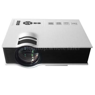 UC40 Portable Mini Full HD LED LCD Projector Home Cinema Theater 1080P USB SD AV