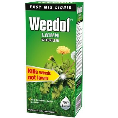 500ML Scotts Weedol Verdone Fast Acting Lawn Weedkiller Concentrate Weeds Patio
