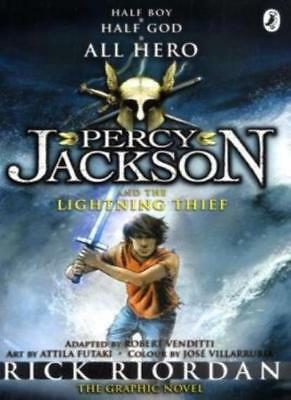 Percy Jackson and the Lightning Thief: The Graphic Novel by Riordan New..