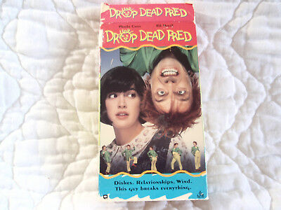 Drop Dead Fred Vhs Phoebe Cates Carrie Fisher Rik Mayall Comedy Tim Matheson