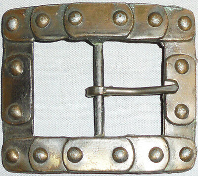 -Rare- Early -Steampunk/Industrial/Machine Age- Vintage Men's Belt Buckle