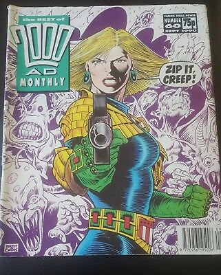 BEST OF 2000AD MONTHLY #60 1990 - Anderson PSI Division 2000 AD Megazine