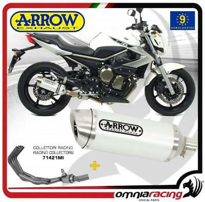 Arrow Impianto Scarico Completo Thunder All Bianco Yamaha XJ6/Diversion 2013