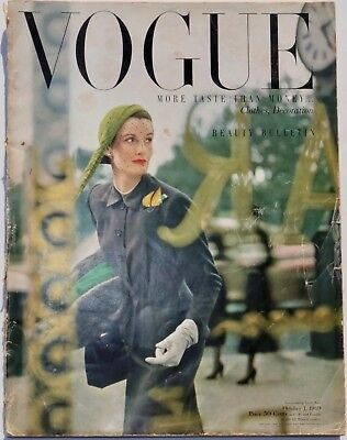 Norman & Wenda Parkinson | 1949 vintage Vogue magazine 40s fashion & style Penn