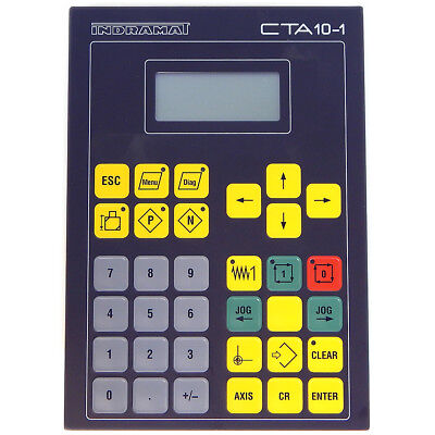 Indramat CTA10.1B-001-FW Operator Interface Keypad Panel RS485 RS232