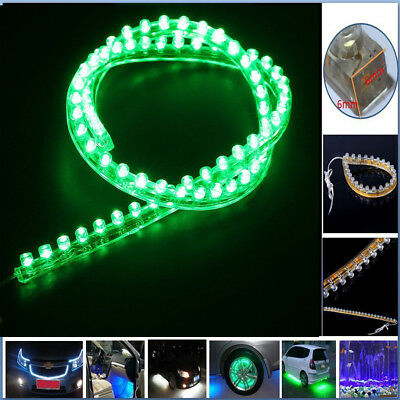 Waterproof Flexible 72 LED Strip Aquarium Fish Tank Marine Light Lamp 12V Green