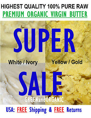 Raw African Shea Butter 32oz / 2lb. 100% Pure Unrefined Organic From Ghana Bulk