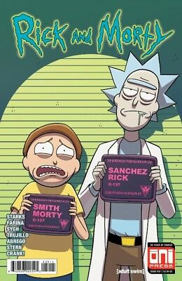 Rick & Morty #39 Cover A Oni Press Ellerby Stern Farina Sygh Action-Packed 62718