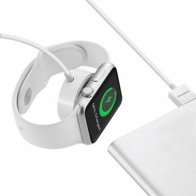 2018 Magnetic Charging Cable Wireless Charger Dock For Apple Watch iWatch 2 3