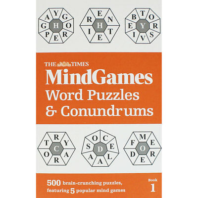 Mind Games - Word Puzzles and Conundrums (Paperback), Non Fiction Books, New