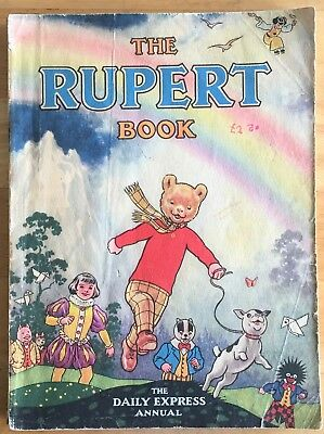 RUPERT ORIGINAL ANNUAL 1948 Inscribed Not Price Clipped G/VG