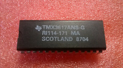 1PC- TMX3617ANS TEXAS Chip for electronic organ DIP28 - 1 piece