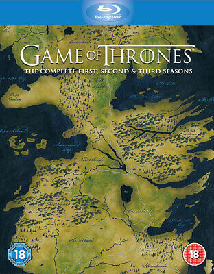 Game of Thrones: The Complete First, Second & Third Seasons Blu-ray (2014) Sean