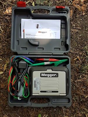 Megger LTW425 High Resolution Loop Tester, To 1 Ohm Resolution