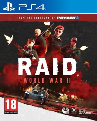 RAID: World War II (PS4)  BRAND NEW AND SEALED - IN STOCK - QUICK DISPATCH