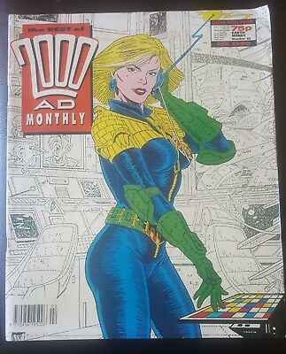 BEST OF 2000AD MONTHLY #53 1990 - Anderson PSI Division 2000 AD Megazine