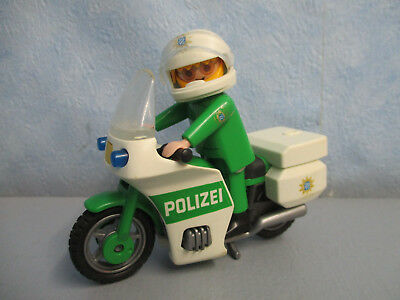 bmw polizei motorrad bike police biker figur playmobil. Black Bedroom Furniture Sets. Home Design Ideas