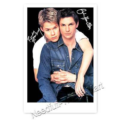 Gale Harold & Randy Harrison Brian & Justin QUEER AS FOLK  - Autogrammfoto [4] 