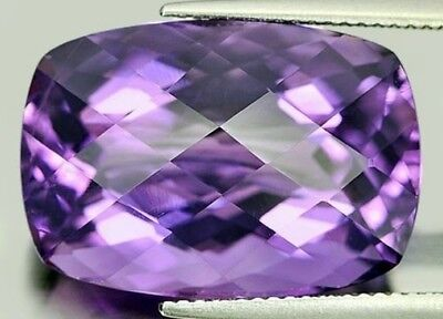 AFRICAN AMETHYST 10 MM SQUARE CUT ALL NATURAL AAA