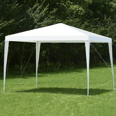 Square 10'x10' Garden Patio Sun Shade Canopy Tent Shelter Wedding Party Gazebo