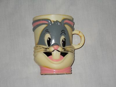 Vintage 1977 F&F Mold & Die Works Bugs Bunny Plastic Cup