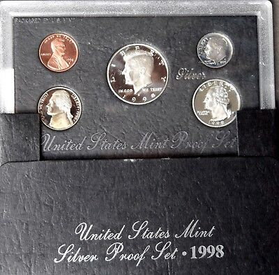 2010 Empty Packaging Replacement Proof Quarter Set Box No Coins