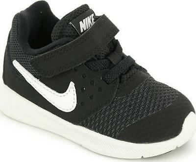 38656d8423d4 Kid s Toddler NIKE DOWNSHIFTER 7 AC Black Casual Athletic Sneakers Shoes NEW