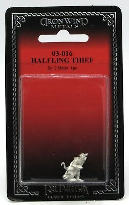 Ral Partha 03-016 Halfling Thief (Player Character) Rogue Warrior Ranger w/ Bow