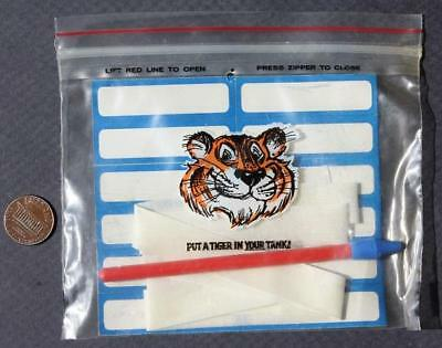1960s Exxon,Esso,Enco,Humble Oil & Gas Tiger in your tank unused marking kit!
