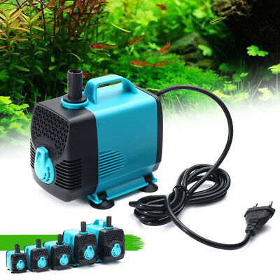 600-3000L/H eau Submersible pompe poissons étang Aquarium Tank fontaine ultra si