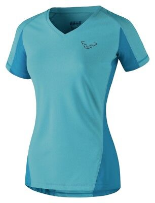 NEW Dynafit ENDURO Blue Womens Small S/S Tee Hiking Running T Shirt Msrp$65