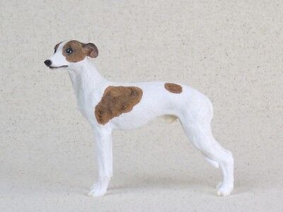 Vintage 1995 WHIPPET FIGURINE Dog Resin BEAUTIFUL