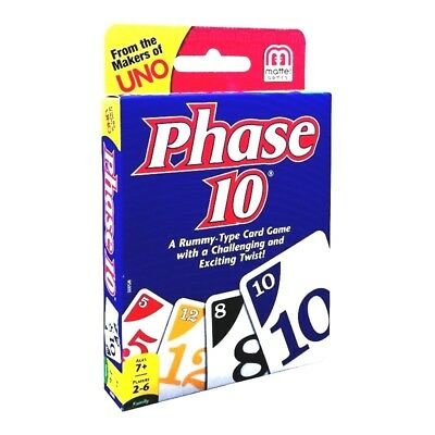Phase 10 - Rummy Type Card Game