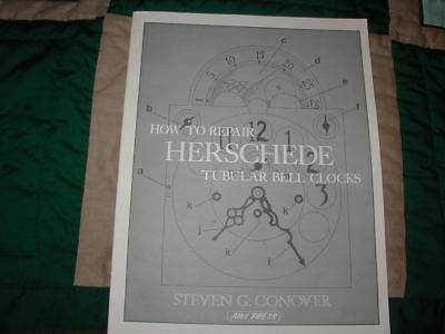 How To Repair Herschede Tubular Bell Clocks book