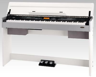 88-Tasten Modernes Design Digital Piano E-Piano Keyboard Dsp Usb Midi Weiss Matt