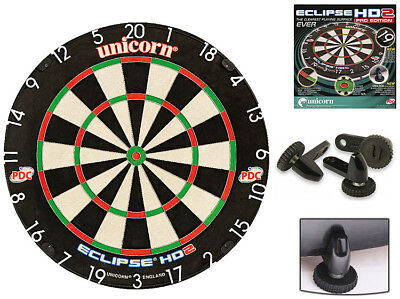 UNICORN Eclipse HD 2 PRO Bristle Dartboard