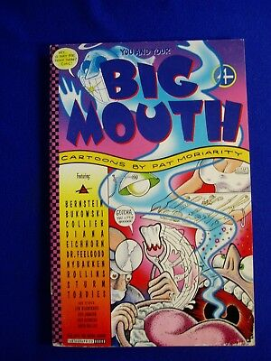 Big Mouth 4 Pat Moriarty  underground   1st print. FN