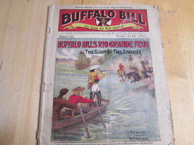 Buffalo Bill. Romanheft um 1910, A. Eichler, Dresden, Band 155