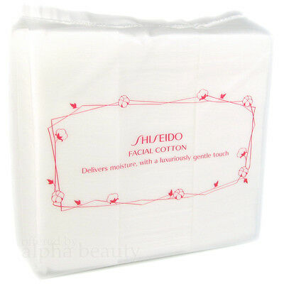 Shiseido Japan Facial Cotton (165 pieces/1 pack) 100% Cotton - Made in Japan