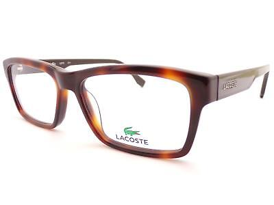 f2dedb70089b LACOSTE unisex Brown Tortoise  Gunmetal 53mm Spectacles Glasses Frame L2721  214